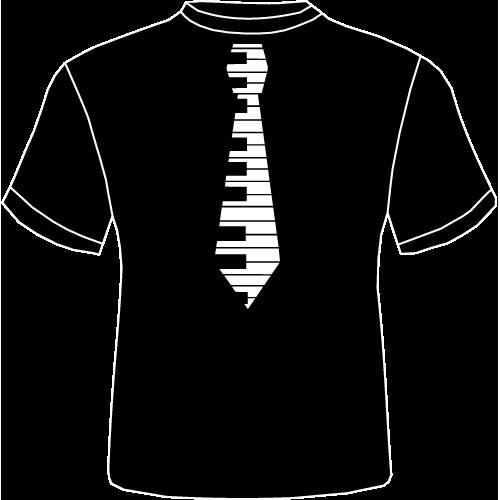 Camiseta Corbata