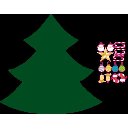 Arbol de navidad + adornos navideños