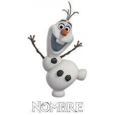 Olaf Frozen + nombre