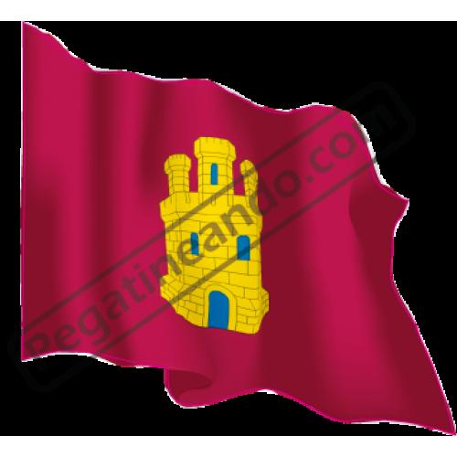 Bandera Castilla Ondeando