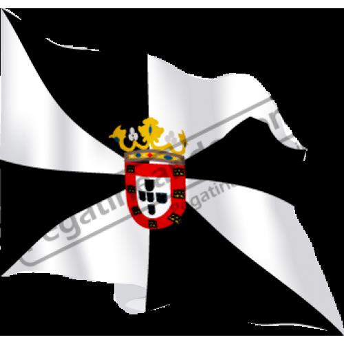 Bandera Ceuta Ondeando