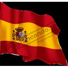 Bandera España Ondeando