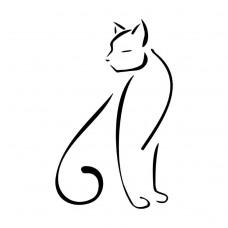 Gato estilizado