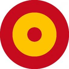 Bandera de España circular
