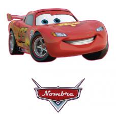 Rayo McQueen Cars + nombre