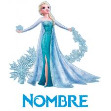 Elsa Frozen + nombre