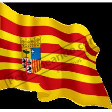 Bandera Aragon Ondeando