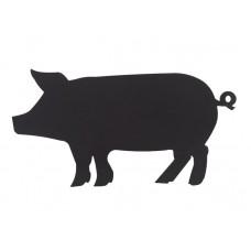 Pizarra adhesiva colores cerdo + rotulador
