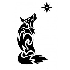 Lobo y estrella