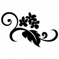 Flor en rama